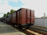 Брест. 2-хосный крытый грузовой вагон