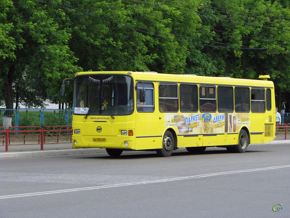 Тверь. ЛиАЗ-5256.35 ак374