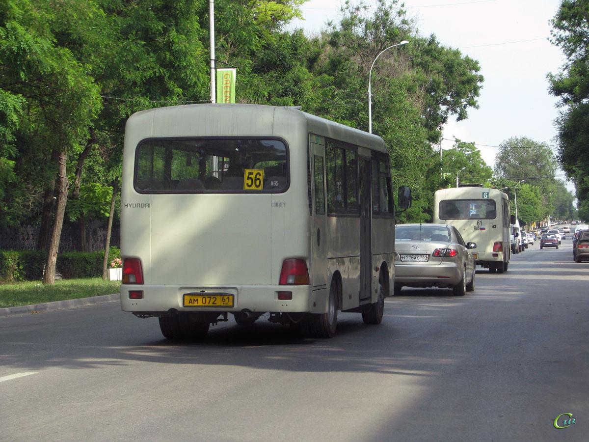 Таганрог. Hyundai County SWB ам072