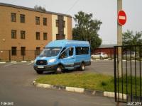Москва. Sollers Bus (Ford Transit FBD) а315тк