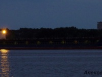 Череповец. Большой сухогрузный теплоход Русич-6 смешанного река-море плавания мощностью 2280 кВт и дедвейтом 5485 тонн