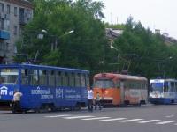 Комсомольск-на-Амуре. 71-134К (ЛМ-99К) №100, РВЗ-6М2 №21, 71-605А (КТМ-5А) №40