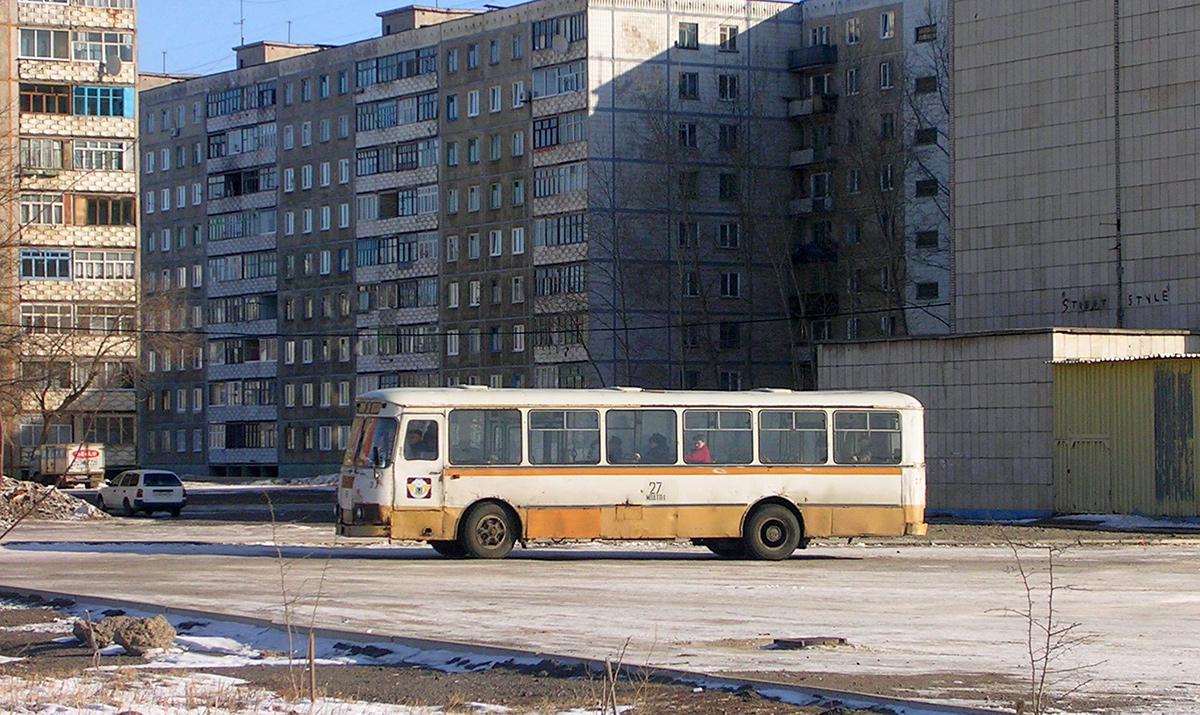 Комсомольск-на-Амуре. ЛиАЗ-677М к457км