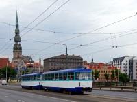 Рига. Tatra T3A №30155