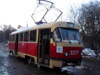 Москва. Tatra T3 (МТТЧ) №3377