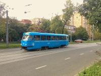 Москва. Tatra T3 (МТТЧ) №1377