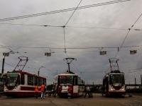 Санкт-Петербург. 71-134А (ЛМ-99АВН) №1363, 71-134А (ЛМ-99АВН) №1335, 71-152 (ЛВС-2005) №1110