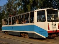 Смоленск. Трамвай 71-608КМ (КТМ-8М) № 1247, маршрут 1