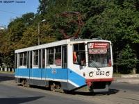Смоленск. Трамвай 71-608КМ (КТМ-8М) № 1263, маршрут 2