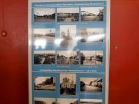 Тверь. Стенд с фотографиями периодов истории трамвая в Твери