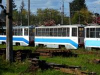 Тверь. Неопознанный трамвай 71-608КМ (КТМ-8М)
