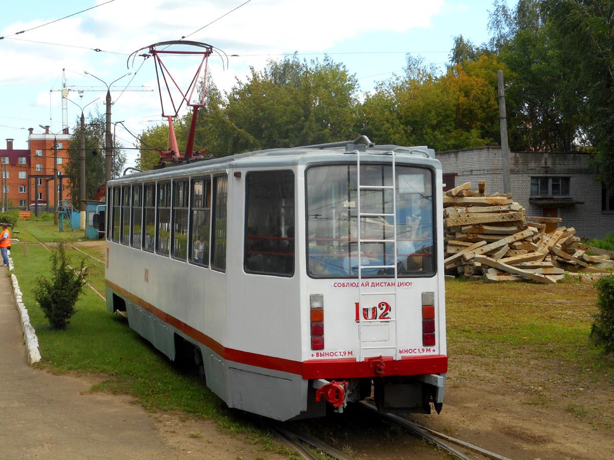 Тверь. 71-608КМ (КТМ-8М) №102
