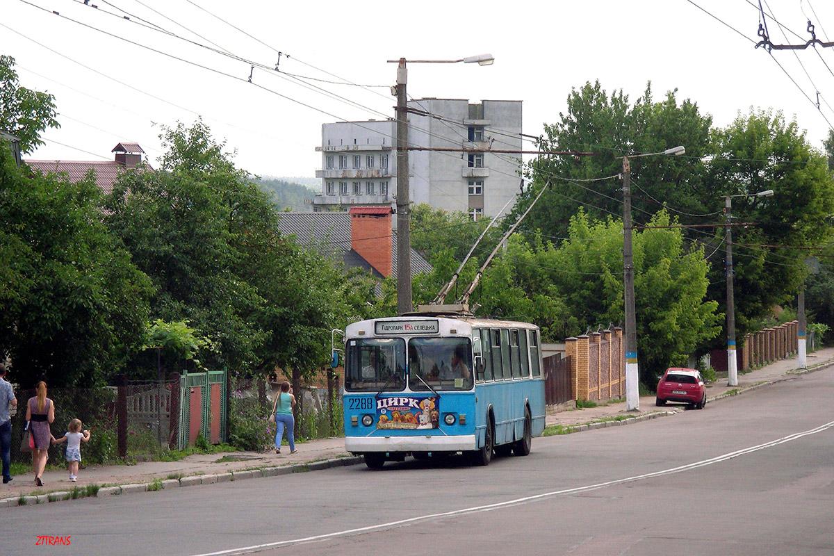 Житомир. ЗиУ-682В-012 (ЗиУ-682В0А) №2288
