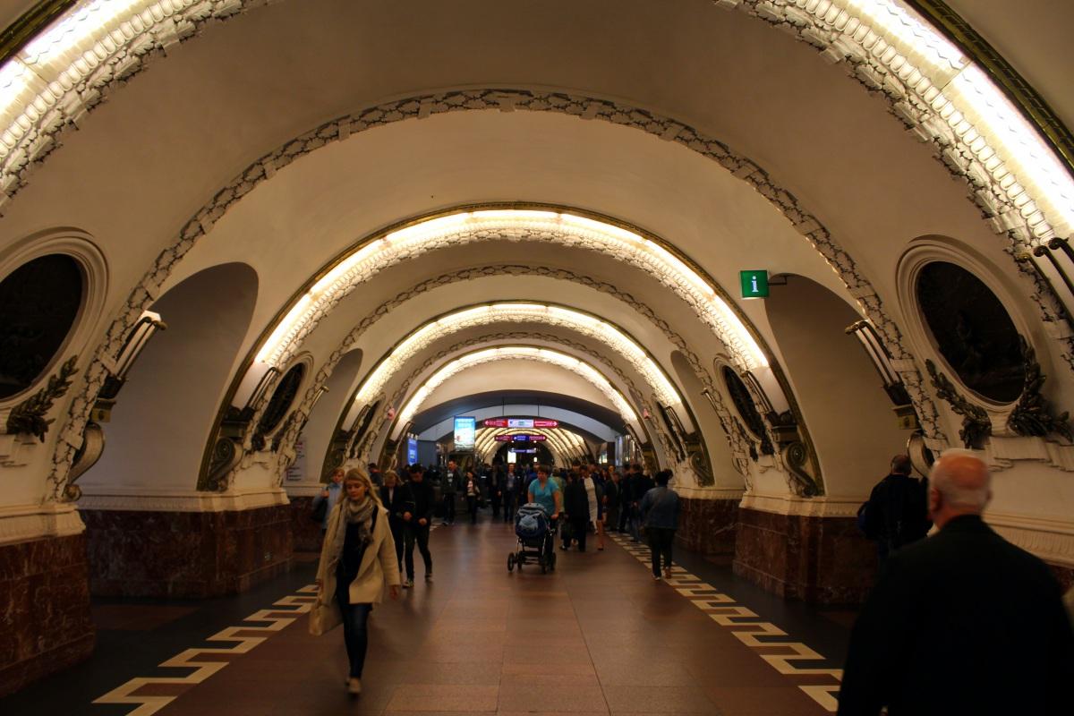 Санкт-Петербург. Станция метро Площадь Восстания