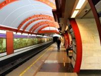 Санкт-Петербург. Станция метро Обводный канал