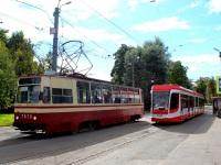 Санкт-Петербург. ЛМ-68М №7575, 71-631 (КТМ-31) №7417