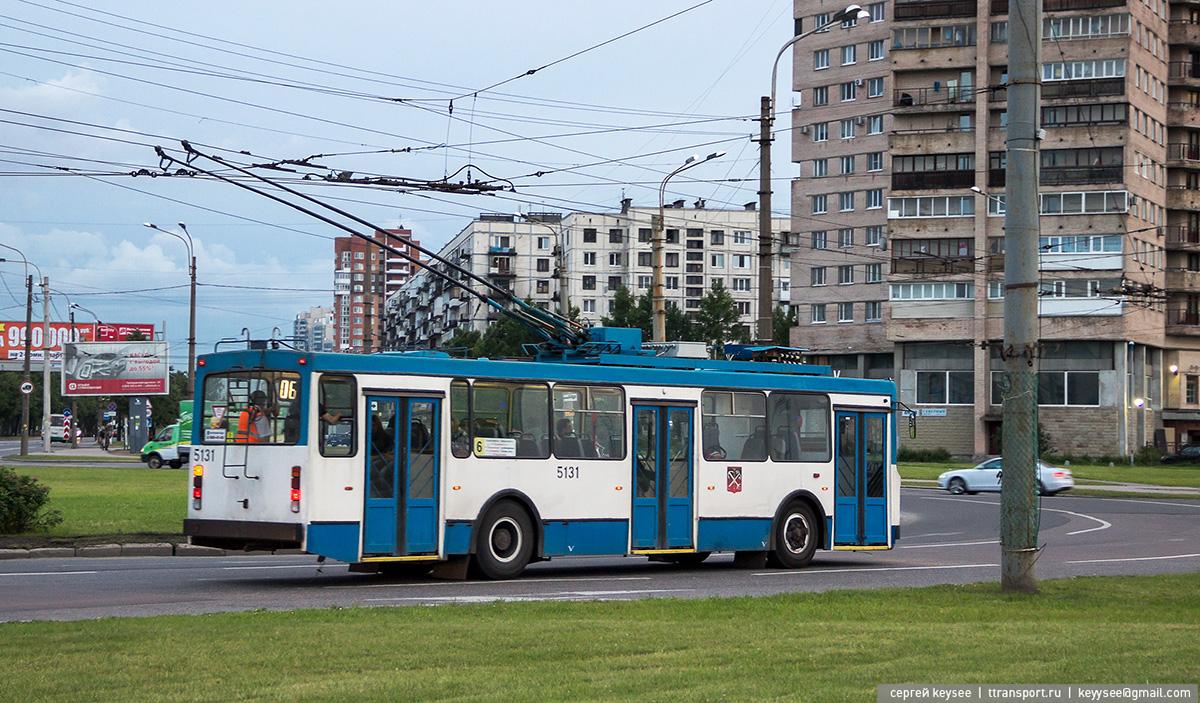 Современные маршруты 6 троллейбусного парка