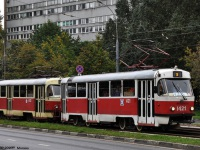 Москва. Tatra T3 (МТТЧ) №1422, Tatra T3 (МТТЧ) №1421