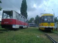 71-605А (КТМ-5А) №2124, Tatra T3M.03 №1111