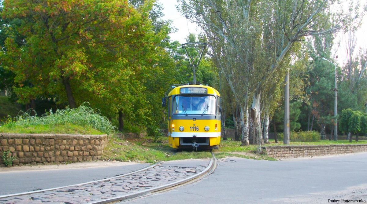 Николаев. Tatra T3M.03 №1116