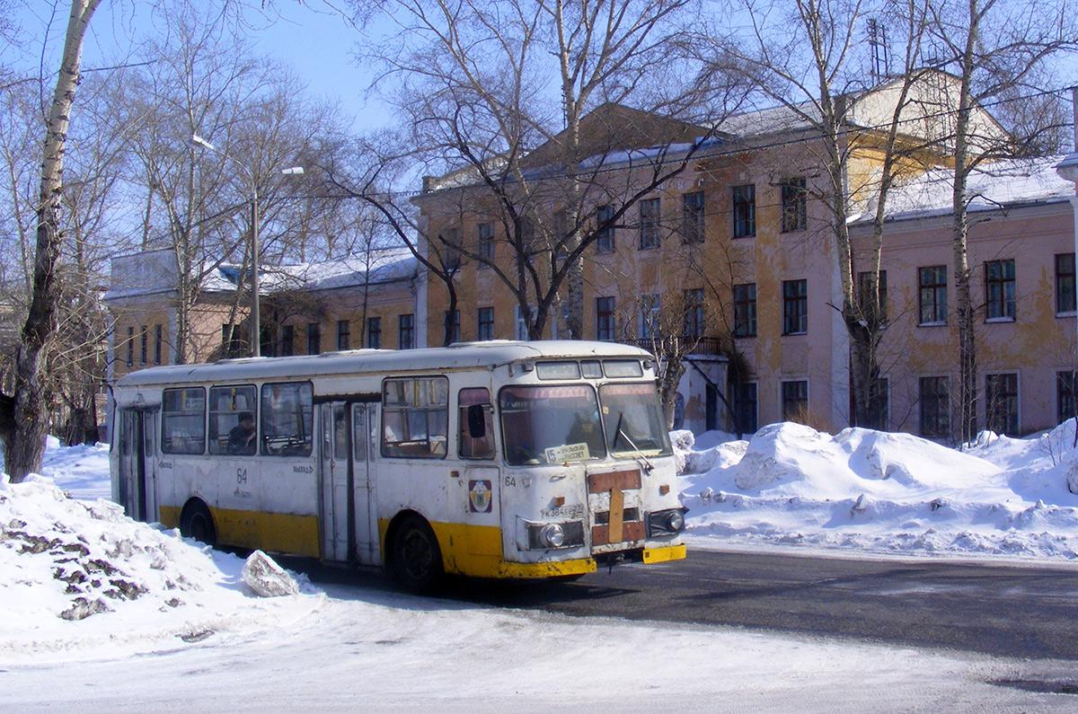 Комсомольск-на-Амуре. ЛиАЗ-677М к384ее