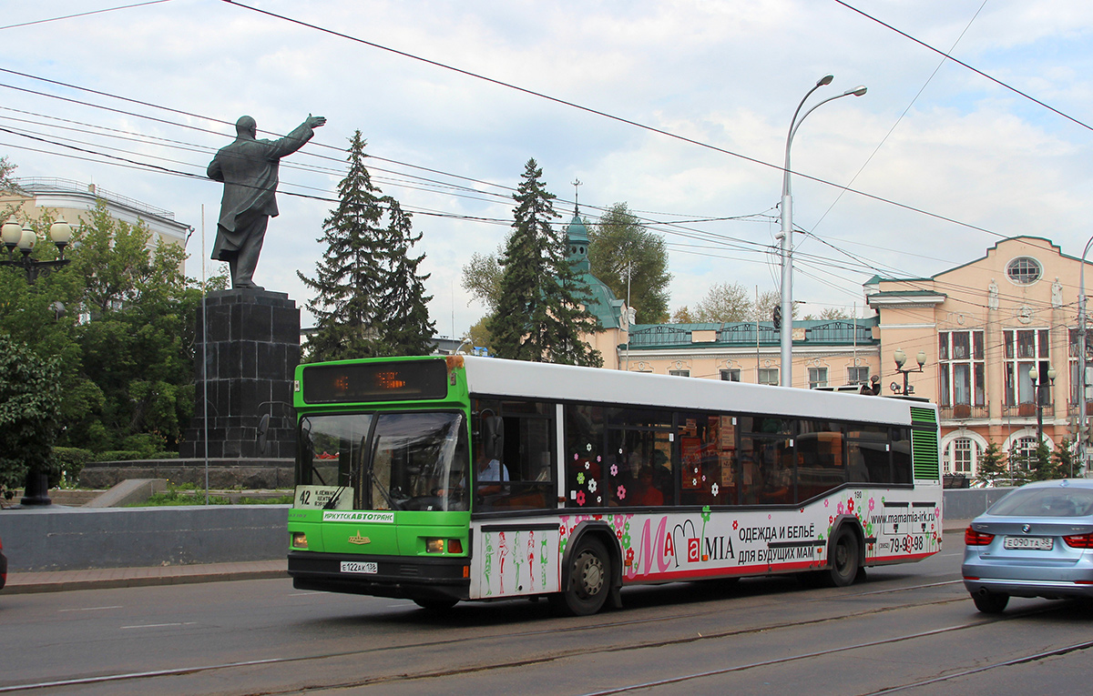 Иркутск. МАЗ-103.075 е122ак