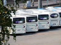 Хельсинки. Irisbus Crossway LE 12.8M BNZ-270, Irisbus Crossway LE 12.8M CHL-506, Irisbus Crossway LE 12.8M LOZ-972, Lahti Scala FHG-230