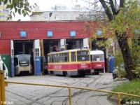 Москва. 71-619А (КТМ-19А) №1129, 71-608КМ (КТМ-8М) №0126, Tatra T3 (МТТЧ) №3456