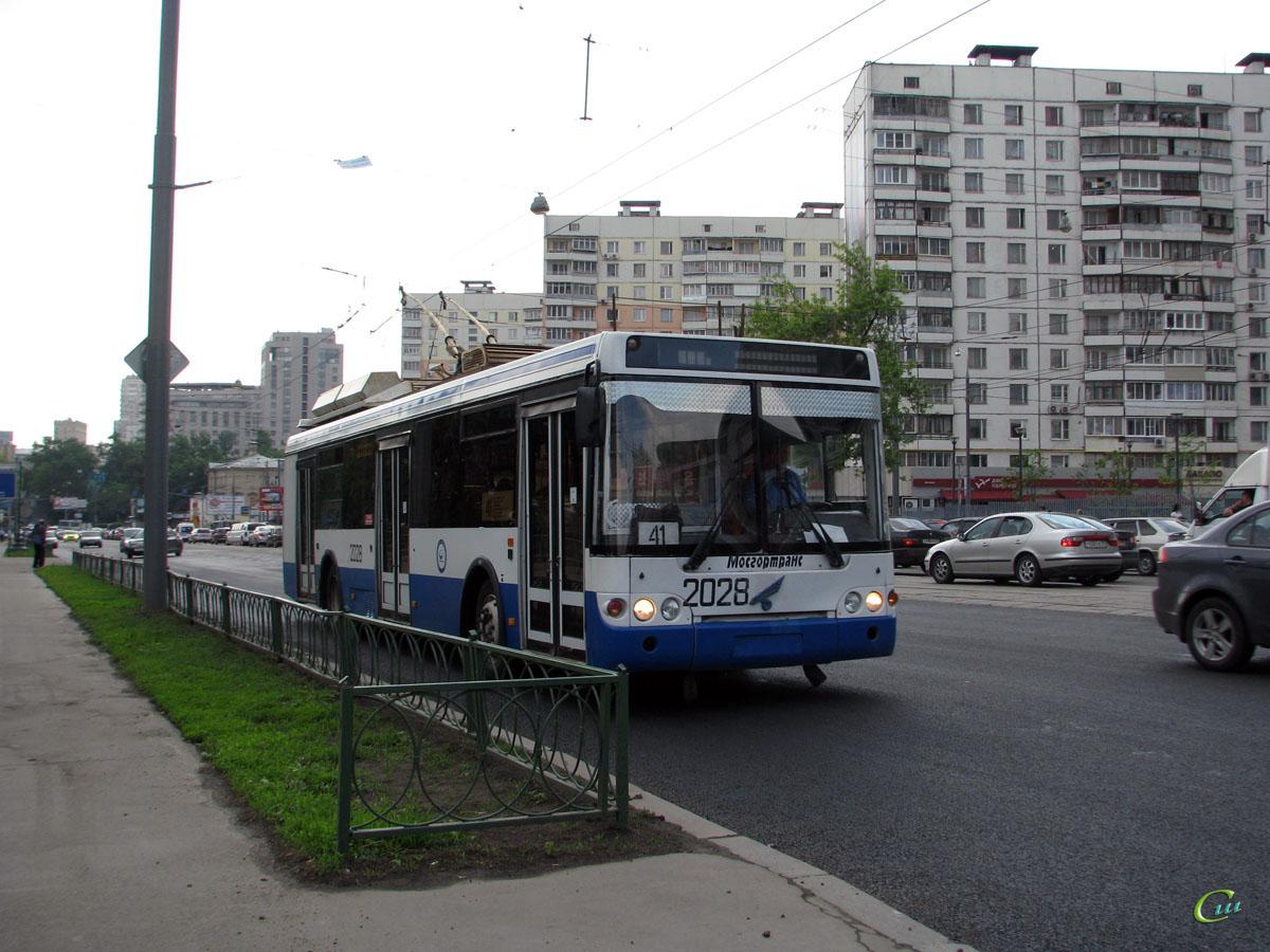Москва. МТрЗ-5279 №2028