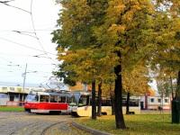 Москва. Tatra T3 (МТТА) №2406, 71-619А (КТМ-19А) №4343