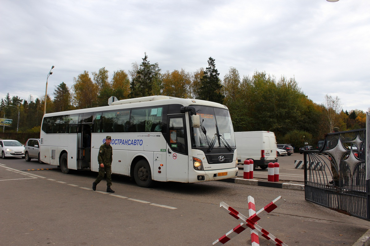 Московская область. Hyundai Universe Space Luxury кв858
