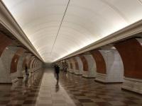 Москва. Станция метро Парк Победы (Калининско-Солнцевская линия)