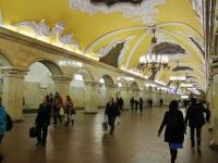 Москва. Станция метро Комсомольская (кольцевая линия)
