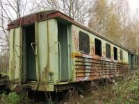Рязань. Пассажирские вагоны ПВ40