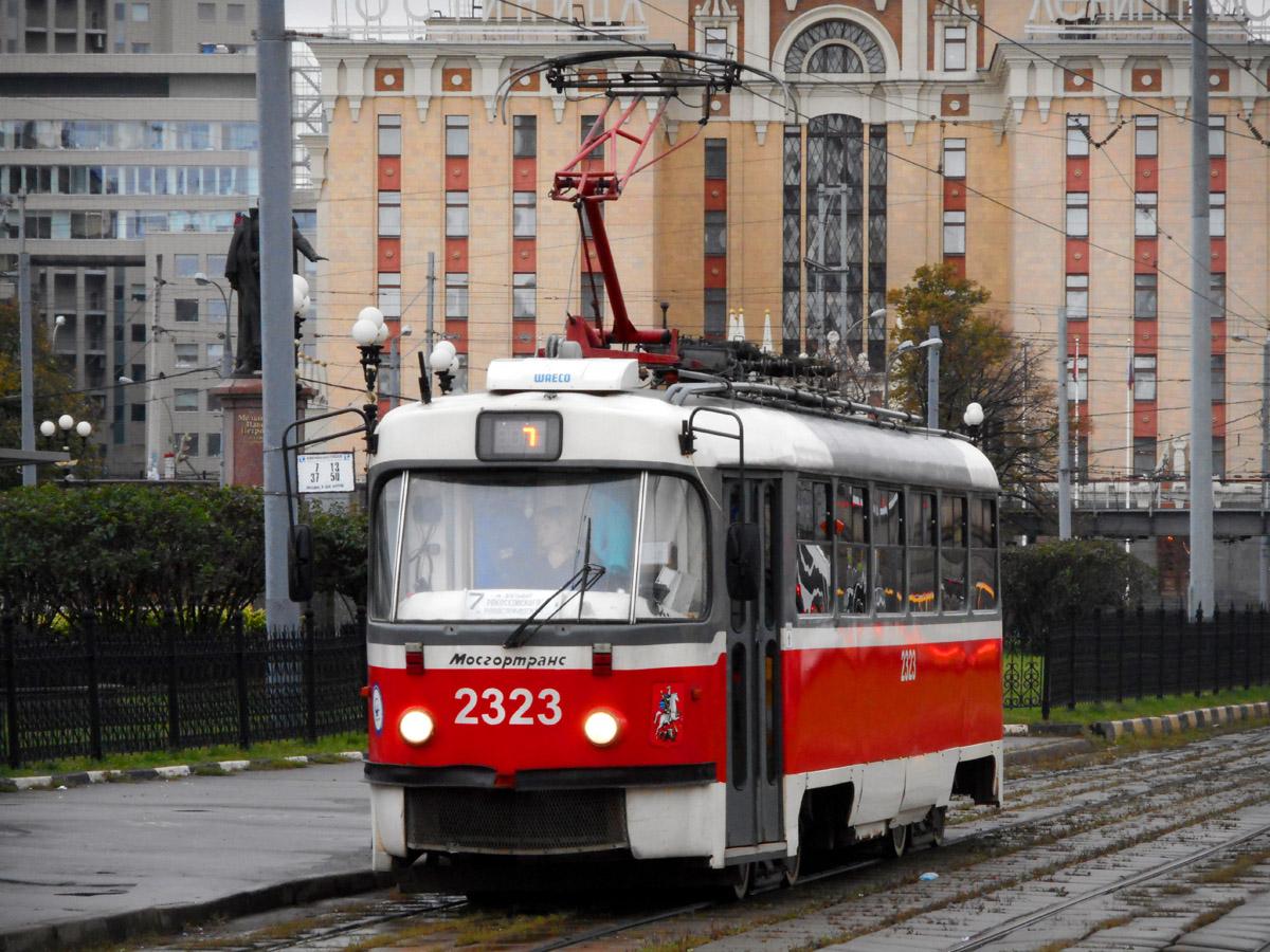 Москва. Tatra T3 (МТТА-2) №2323