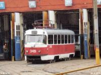 Москва. Tatra T3 (МТТЧ) №3451