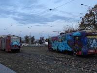 Минск. РВЗ-6М2 №432, Tatra T6B5 (Tatra T3M) №001
