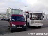 Череповец. ПАЗ-32053 е639сн, ГАЗель (все модификации) е807рт