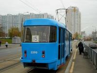 Москва. Tatra T3 (МТТА) №3390