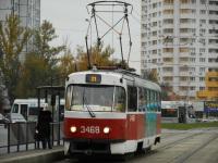 Москва. Tatra T3 (МТТА) №3468