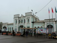 Московская область. Железнодорожный вокзал станции Голицыно