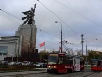 Москва. 71-619А (КТМ-19А) №2147, 71-623-02 (КТМ-23) №2635