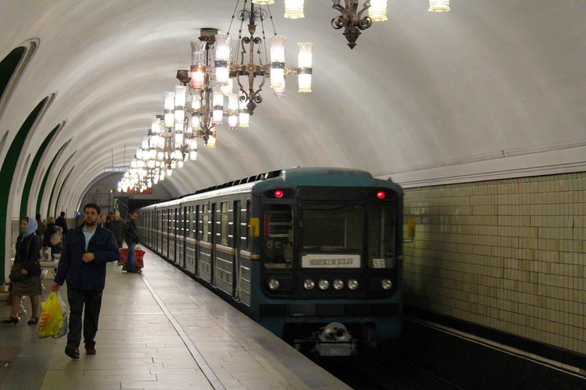 Москва. Станция метро ВДНХ - Калужско-Рижская линия