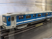 Санкт-Петербург. Модель вагона 81-720