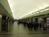 Санкт-Петербург. Станция метро «Приморская» Невско-Василеостровская линия