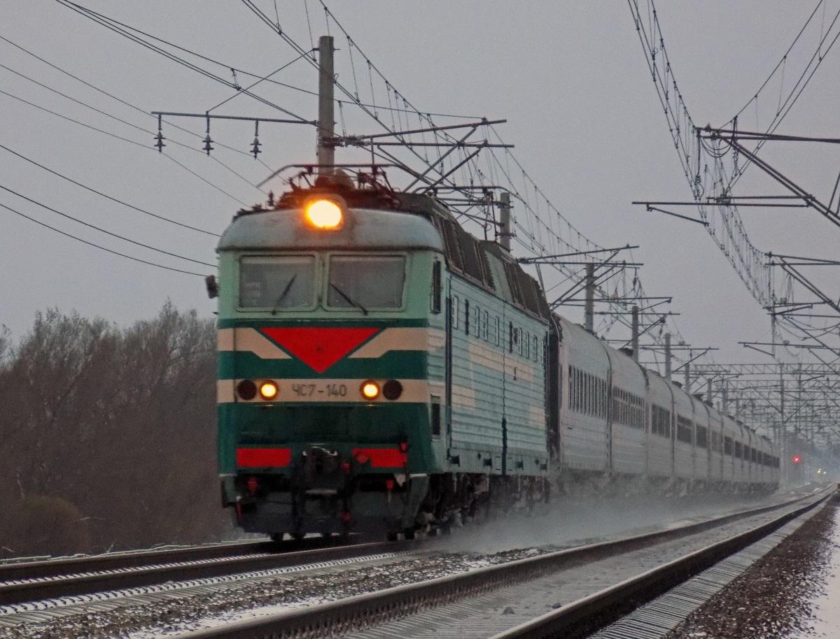 Санкт-Петербург. ЧС7-140