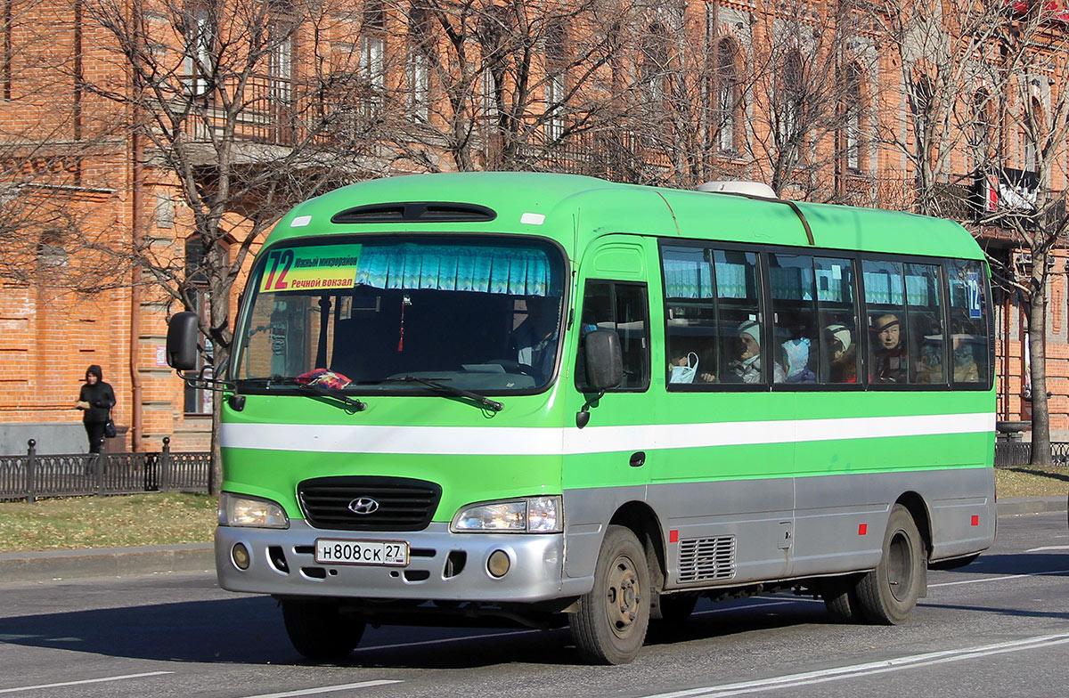 Хабаровск. Hyundai County н808ск
