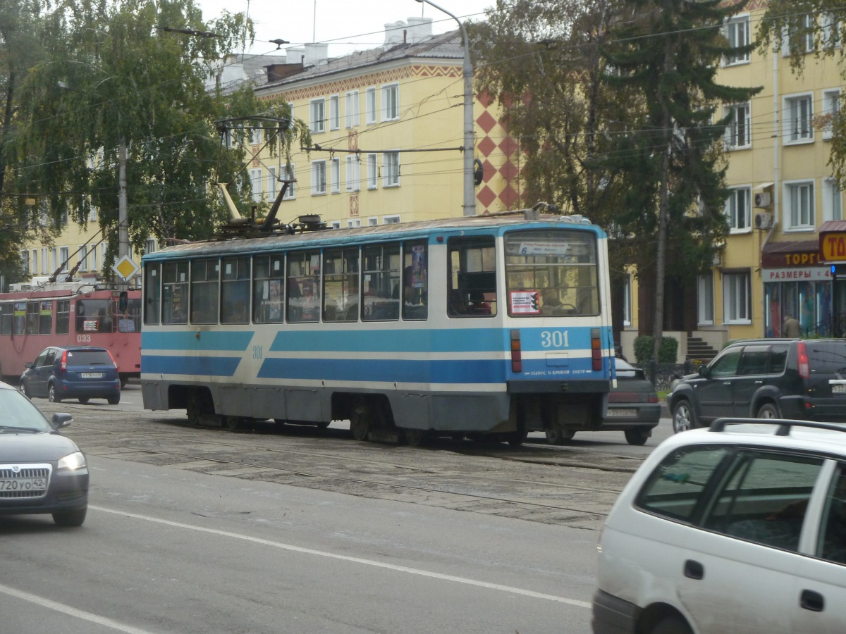 Новокузнецк. 71-608КМ (КТМ-8М) №301