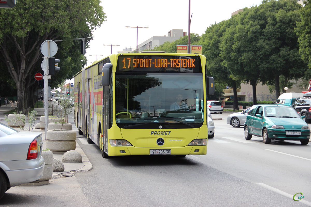Сплит. Mercedes-Benz O530 Citaro G ST 295-SO