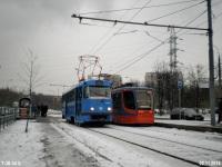 Москва. Tatra T3 (МТТА) №3347
